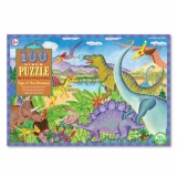 Eeboo 100 Piece Puzzle - Age of the Dinosaur